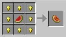 Сверкающий ломтик арбуза