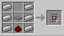 нажимные рельсы в minecraft